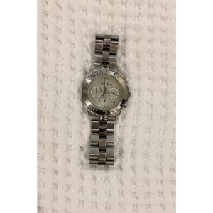 Marc By Marc Jacobs Silver, Large Watch